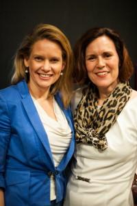 De auteurs Lorraine Vesterink en Lizet van Triet